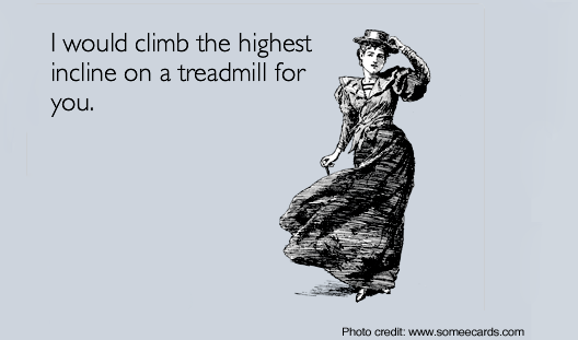 Boost treadmill workout with incline