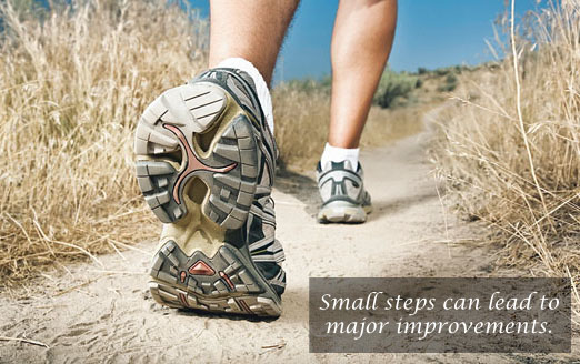 Small steps for health