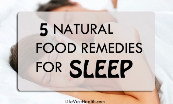 5 natural food remedies for sleeplessness