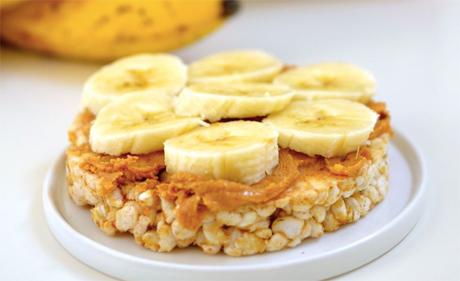 Peanut Butter Banana Cakes