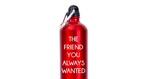 Make friends with your water bottle