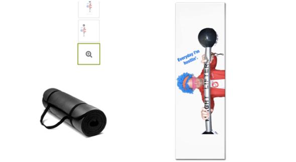 Custom Workout Mat