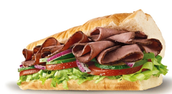 Healthy travel fast food